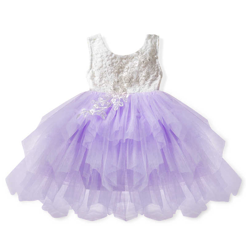 8ecd4de32b5 ... Fancy Flower Lace Baby Girl Dress Summer Clothes Kids Tutu Princess  Dresses For Girl Party Frocks ...