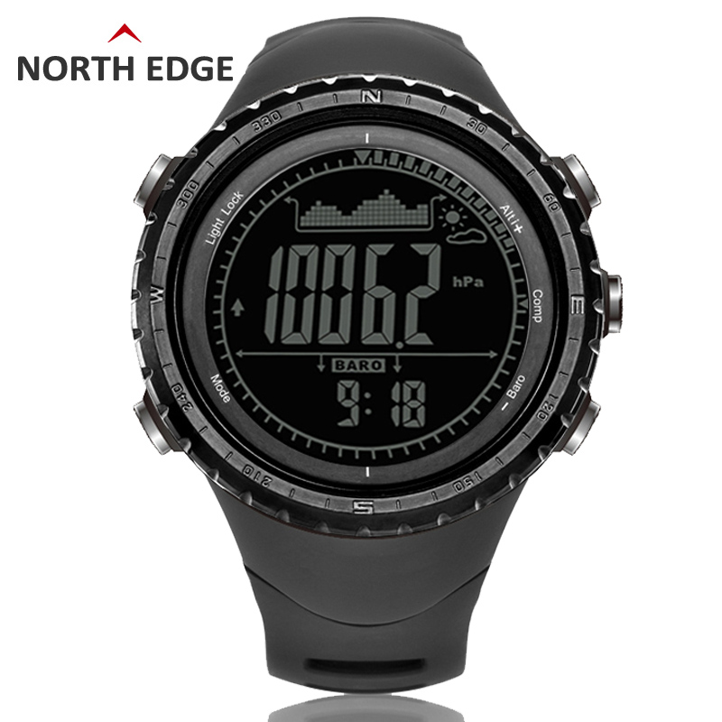 Men's sport Digital-watch Hours Running Swimming watches Altimeter Barometer Compass Thermometer Weather Pedometer Digital Watch watch men digital watch hours altimeter barometer compass thermometer hygrometer digital pocket watch clock relogio masculino