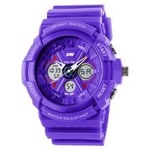 WACHES femmes dames numérique montre-bracelet étanche horloges de dessin animé de silicone genève horloge datejust militaire top marque s choc top