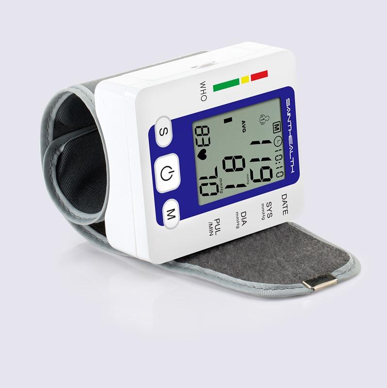 Digitale Elektrische Handgelenk Blutdruck Monitor Tragbare Smart Medizinische Maschine Messen Blutdruck Puls Rate Diagnose-tool