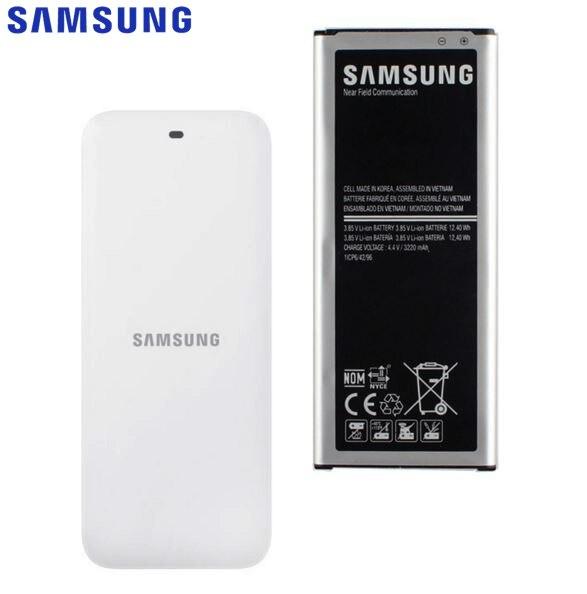 Original <font><b>Battery</b></font> + Cradle Dock Charger For <font><b>Samsung</b></font> Galaxy <font><b>NOTE</b></font> <font><b>4</b></font> N910A N910H N910FD N910C N910G N910F NOTE4 EB-BN910BBE 3220mAh