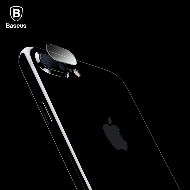 new arrival 64148 bba7c US $4.99 |Baseus Camera Lens Tempered Glass For iPhone 7 Plus Full Cover  Back Transparent Phone Lens Screen Protectors Film For iPhone 7-in Phone ...