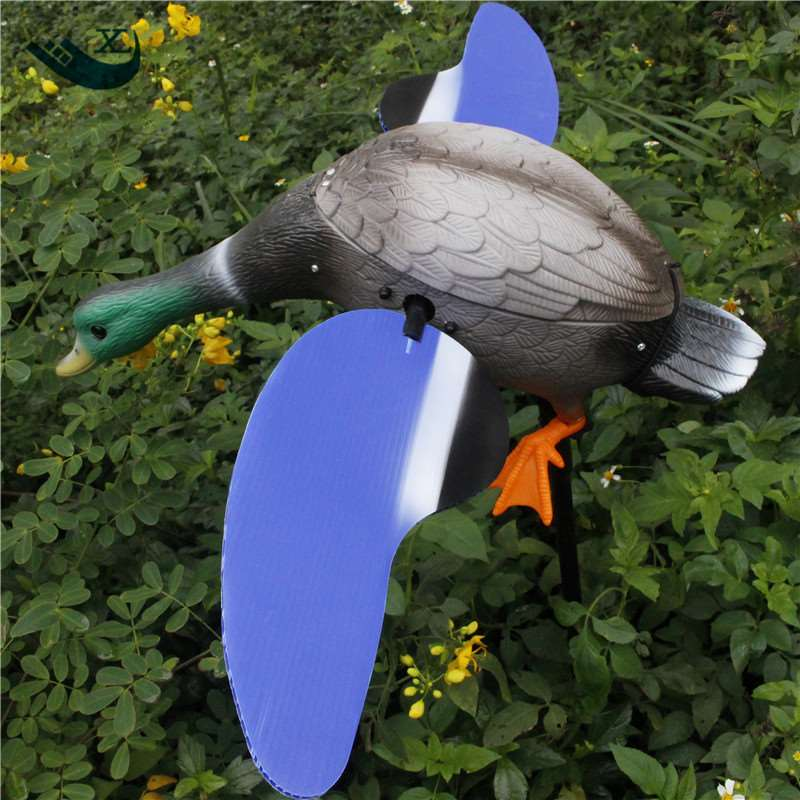 Denmark Duck  Hunting Wholesale Dc 6V Remote Control Pe Plastic Male Duck Decoy With Magnet Spinning Wings From Xilei|duck decoy|duck hunting|plastic duck decoy - title=