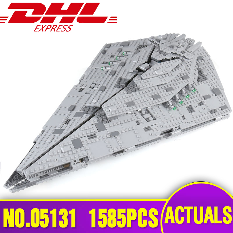 Lepin 05131 Genuine Star Plan Series The First order Star Model Destroyer Set Legoing 75190 Building Blocks Bricks Toys as Gifts lepin 05062 genuine star series wars the star model destroyer set legoing 75055 building blocks bricks educational toys for gift