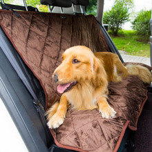 High Quality Large Small Universal Dog Car Pet Seat Covers Carrier Travel Accessories Two-Seater Trunk Mat Products