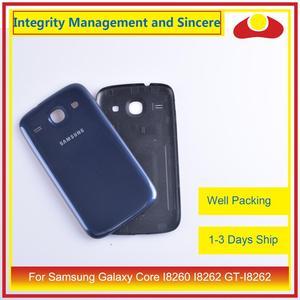 Image 4 - Per Samsung Galaxy Core I8260 I8262 GT I8262 GT I8260 Dellalloggiamento Del Portello Della Batteria Posteriore di Caso Della Copertura Posteriore Telaio Borsette di Ricambio