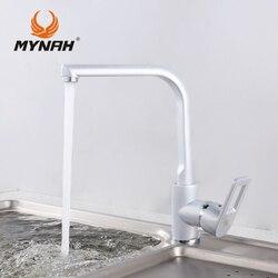 MYNAH Russland Kostenloser Versand 2017 Neue Armaturen Wasserhahn Moderne  Wasser Power Küchenarmatur Schwenkauslauf Küchen Schiff Sinken Wasserhahn  M5406H