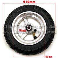 8x2.00-5 Tubeless Tire Wheel Tyre 8X2.00-5 wheel hub Pocket Bike MINI Bike Electric Wheelchair Wheel Motor