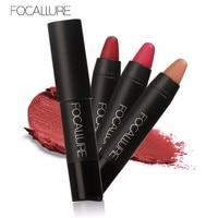 FOCALLURE Makeup Matte Lipstick Cosmetics Waterproof lipsticks Long Lasting Mate Lip Gloss Rouge a Levre Labial Free Shipping