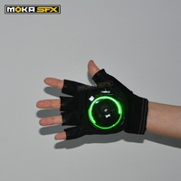 Auto Moving Green Laser Gloves Palm Laser iron man glove cosplay DJ Laser Gloves bar party great laser equipment