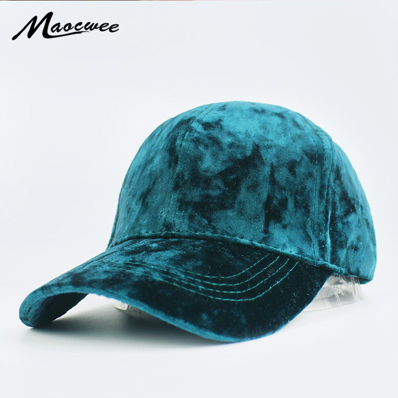 Men Women  New Faux Velvet Baseball Cap Women Plain Black Snapback Men Winter Fashion Pure Caps Flat Dad Hats Hip Hop Dad Hats