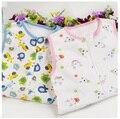 Лето Весна новорожденных sockpuppet Sleepsacks 100% хлопок 0-18months ребенок рукавов мультфильм спальный мешок ребенка жилет мешки 77X45 см