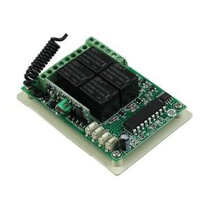 Image 4 - DC 12 V 4CH 1CH ממסר עצמאי אלחוטי + מתג אור מרחוק 2CH הרגעי 2CH Toggle Switch 315 MHZ/433 MHZ