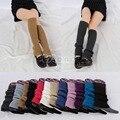 Women Winter Warm Knit Crochet Slouch High Knee Leg Warmers Leggings Boot