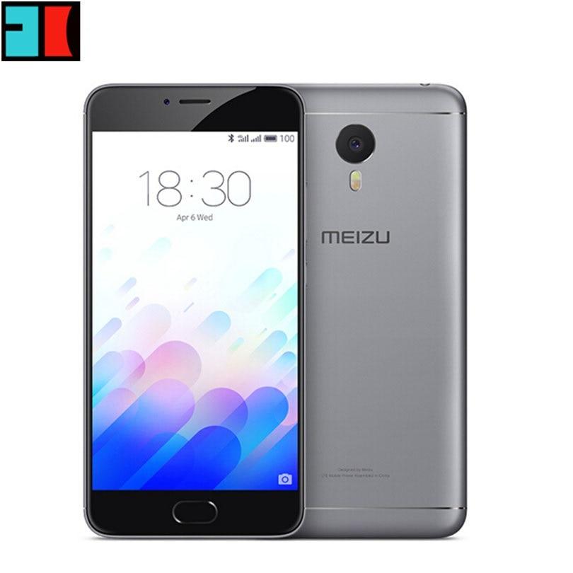 "Original Meizu M3 Note Global Firmware Mobile Phone MTK Helio P10 Octa Core 5.5"" 1920x1080 4100mAh Fingerprint"