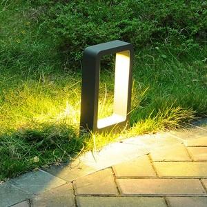 Image 5 - Thrisdar pilier lumineux pour lextérieur, luminaire de paysage, borne lumineuse pour une Villa, un parc, un Patio, un sentier, 10W LED