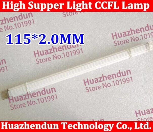 100pcs/lot New High quality Supper Light CCFL 115 * 2.0 mm, 115 mm*2.0 mm LCD Backlight Lamp High quality Free shipping
