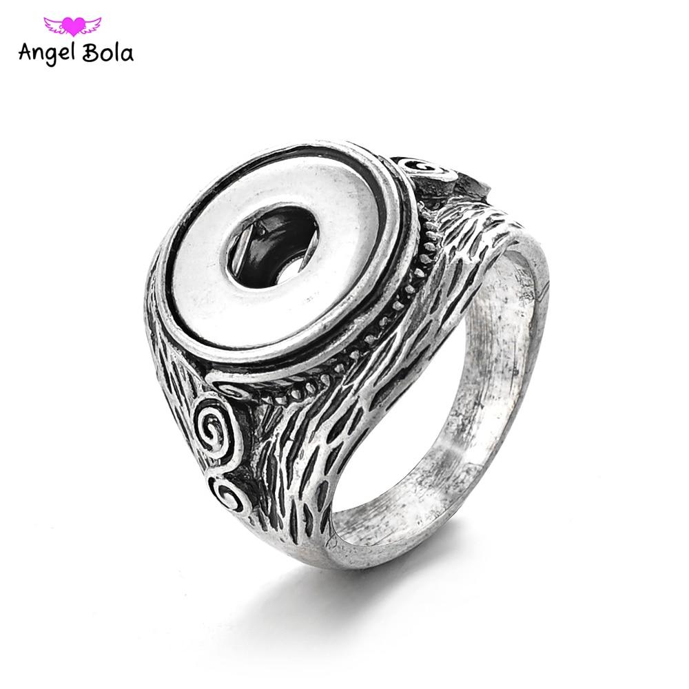 f04744f9dd92  Pieza 12mm nuevo estilo pop encanto joyería PRYME intercambiables botón a  presión anillos de boda para mujeres j002US  1.94  Pieza PRYME  intercambiable DIY ...