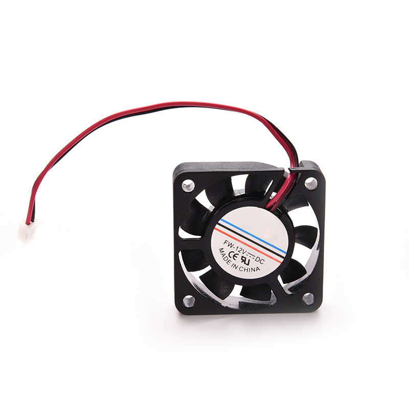 1 pc preto 4 cm ventilador de refrigeração do computador dc 12 v 2pin 40mm x 40mm x 13mm para cpu portátil pc dissipador de calor refrigerador 9 lâminas mini ventilador