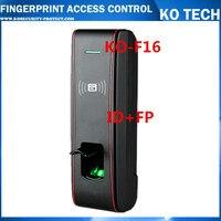 Бесплатная доставка 125 кГц карта отпечатков пальцев система контроля доступа ZKTECO программное обеспечение