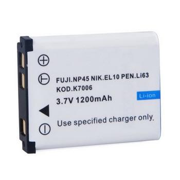 1 Batería de cámara Digital Li-42B piezas para OLYLi-40B/42B para FUJI. ¡NP45 NIK! EL10 pluma ¡Li63 KOD! k7006 #1