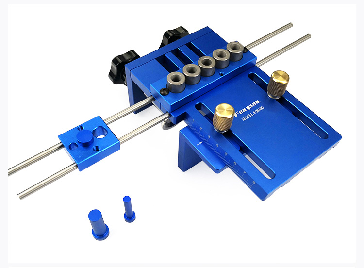 Tools : High Precision Dowelling Jig With Metric Dowel Holes 6mm8mm10mm  Woodworking Joinery