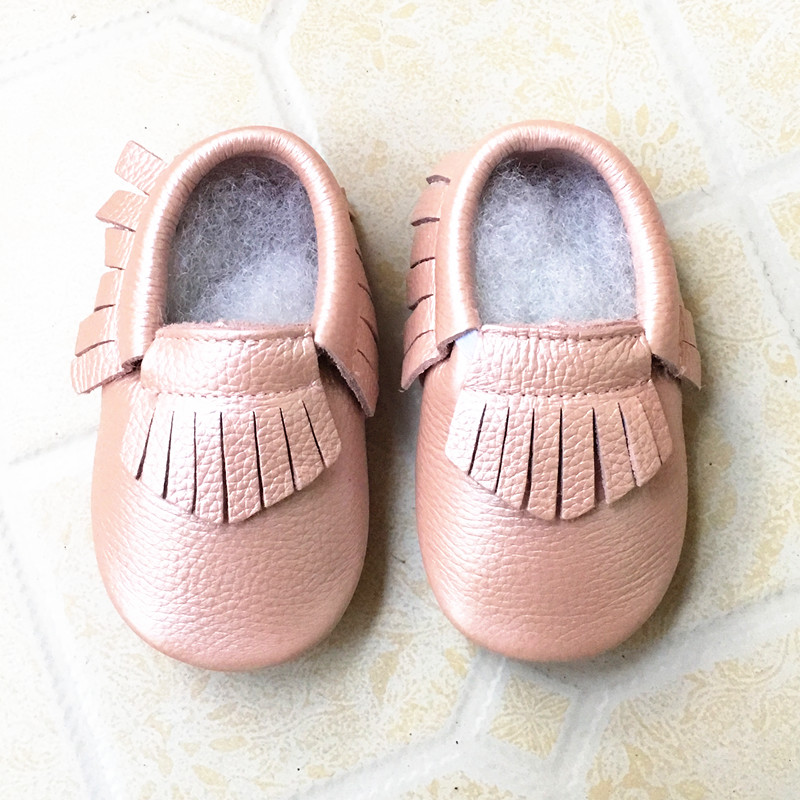 Genuine-Leather-baby-shoes-Toddler-Fringe-and-bow-baby-moccasins-First-Walkers-Infant-Baby-girl-and-boy-Shoes-Free-shipping-4