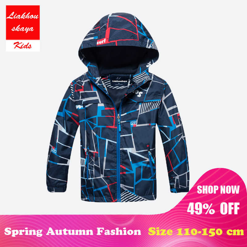 cf04441621239 ... Liakhouskaya 2018 Children Boys Jacket 4-15T Winter Autumn Outerwear   Coats  Kids Polar Fleece ...