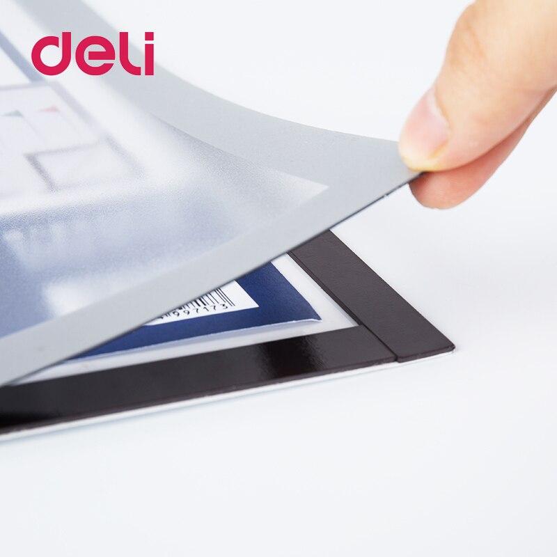 A5 Magnetic Sign Holder Whiteboard Hanging Soft Magnetic Strong Suction Pressure-sensitive Adhesive Magnetic Presentation Folder