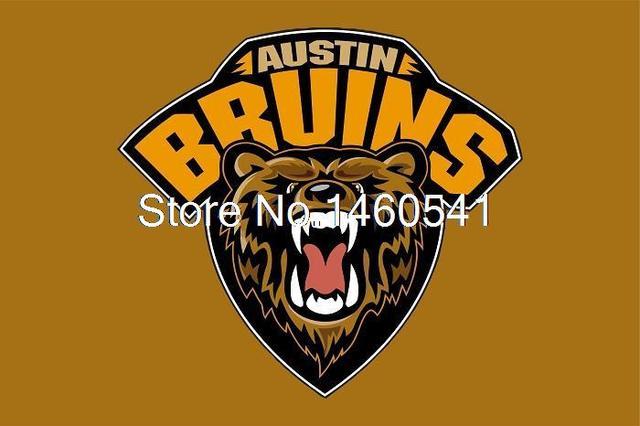 Austin Bruins Flag 3ft X 5ft Polyester U S Junior Hockey North