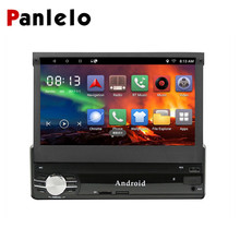 Android Single 1DIN Car Radio Stereo Quad Core 6.0 Touch Screen Car GPS Navigation Radio Player Bluetooth/WIFI/Mirror Link/AM/FM android 6 0 quad core 1gb 16gb head unit car radio 7 inch bluetooth wifi mirror link am fm rds gps navigation 2 din car stereo