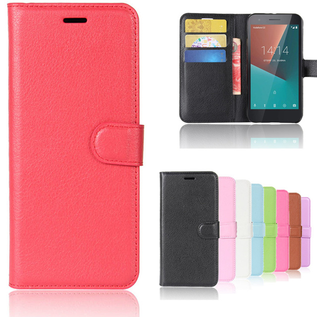 best sneakers 9ac6c e7afe US $3.9 18% OFF|For Vodafone Smart E8 Case 5.0 inch Wallet PU Leather Phone  Case For Vodafone Smart E8 VFD510 VFD 510 Case Flip Cover Back Bag-in ...