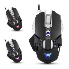 Combaterwing CW30 Wired Gaming Mouse Mice 7 Buttons 3200DPI 1000Hz Return Rate Weight Tuning Optical USB for Gamer Computer