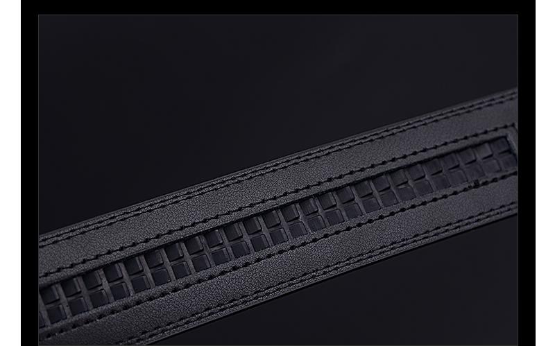 حزام COWATHER  جلد طبيعي للرجال ذو جودة عالية 15