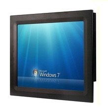 15″ industrial panel PC, Core i3 CPU, 4GB DDR3 RAM, 320GB HDD, 2*RS232/4*USB/GLAN, all in one touchscreen HMI
