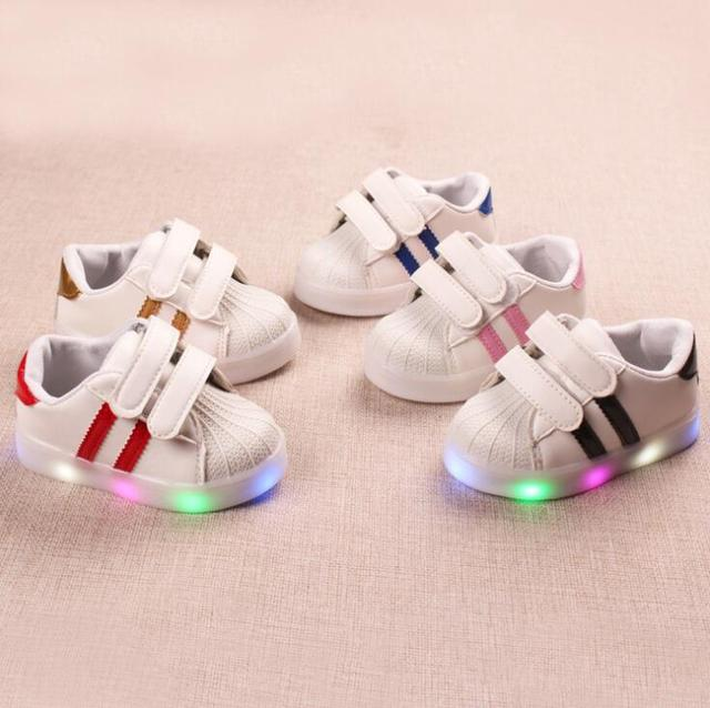 Children Shoes Casual Boys Sneakers Spring Soft Solid Breathable Baby Girls Shoes  1-2-3-4-5-6 Years Sport Kids Shoes Size 21-30 6393e5a5a0b7