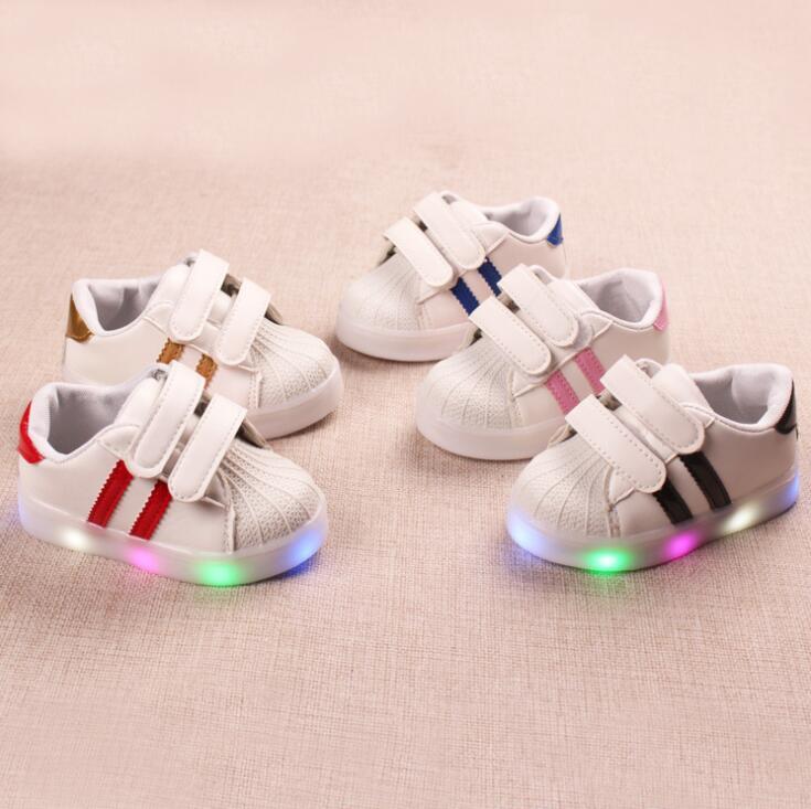 Crianças Sapatos Casuais Meninos Sapatilhas Primavera Sólido Macio  Respirável Sapatos de Bebê Meninas 1-2-3-4-5-6 Anos Crianças Desporto Sapatos  Tamanho 21- ... b8f8a72f47c
