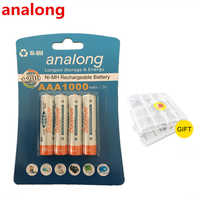 Original 4Pcs Bateria AAA Batteries NI-MH 1000mAh Low-Self Discharge aaa Rechargeable 3A Battery bateria For Remote Controller