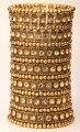 Многослойной стрейч браслет-манжета женщины кристалл свадебные ювелирные изделия золото посеребренная оптовая dropshipping B11 7 СТРОКИ