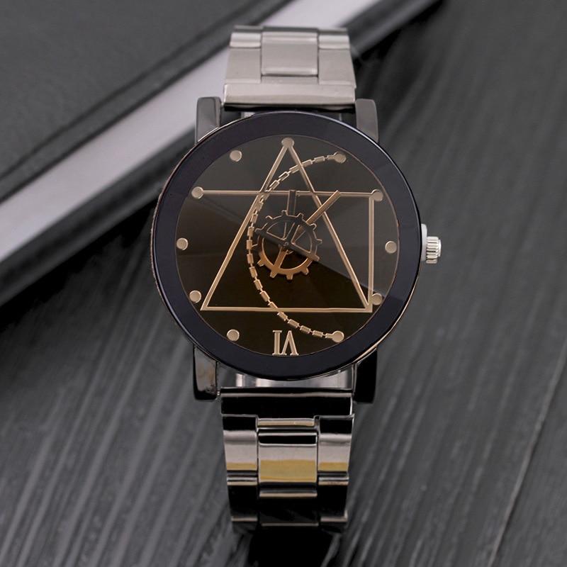 Original brand Luxury Stainless steel Casual quartz watch men women Lov