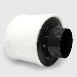 4 zoll Carbon Filter Luftreiniger mit Pre-filter für Inline Fan Hydrokultur Grün Indoor-garten Wachsen Zelt Belüftung 100mm