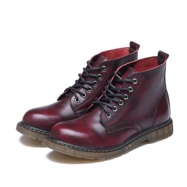 Erkek botları büyük boy kış hakiki deri tasarımcı sıcak satmak rahat marka erkek patik # MXZ8309139