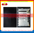 Alta qualidade para sony xperia tablet z 10.1 sgp311 sgp312 sgp321 lcd touch screen digitador com display lcd assembléia completa