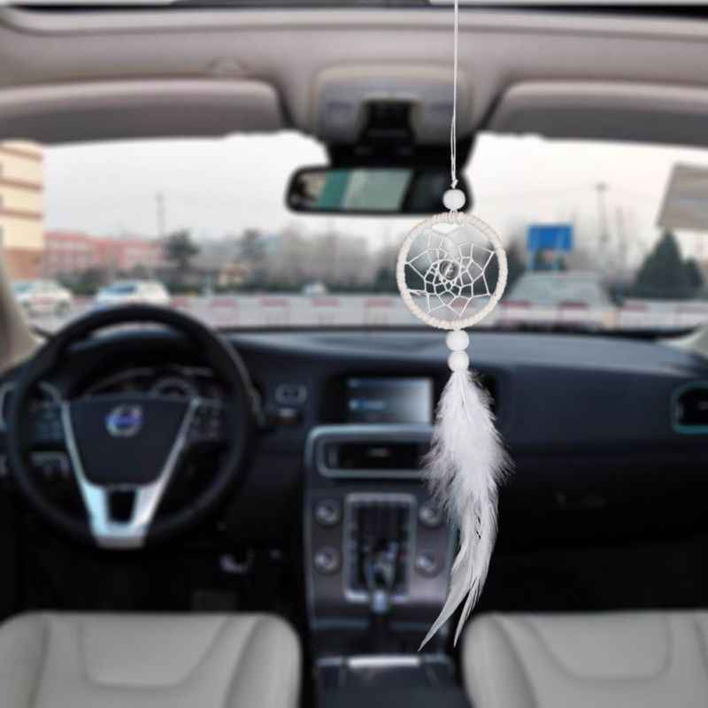 Mini Dreamcatcher Pendant Indian Dream catchers Car & Bag Decor Wind Chimes & Home Wall Hanging Decoration Gifts