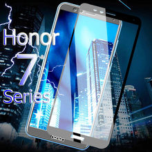 "Full Cover Tempered Glass For Huawei Honor 7A Pro AUM-AL29 7A 5.45"" Honor 7C AUM-L41 5.7"" 7C Pro Screen Protector Sklo Verre Y6(China)"