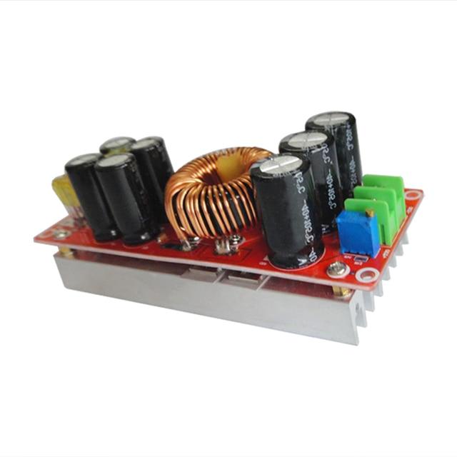 Nueva 1200 W 20A DC DC Convertidor Boost Step-up Power Module Su0pply EN 8-60 V OUT 12-83 V 12 v 24 v de la batería