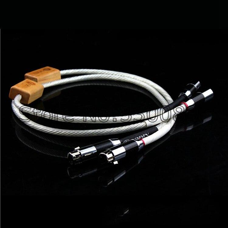 bilder für Freies verschiffen 3 meter nordost Odin Supreme Referenz XLR balance audio kabel mit kohlefaser xlr-stecker kabel