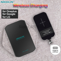 Nillkin Qi Wireless Charging Type C Receiver Wireless Fast Charger For Oneplus 3 5 5T For