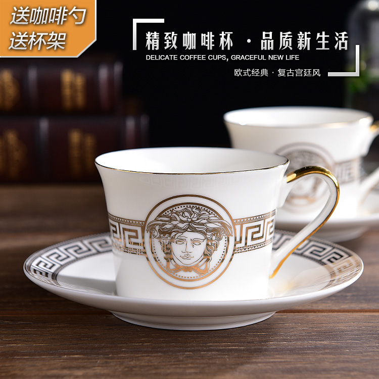Fine Bone China English Coffee Cup Set Royal Porcelain Coffee Cup And Saucer Sets Afternoon Tea Cup With Spoon Gift Packing