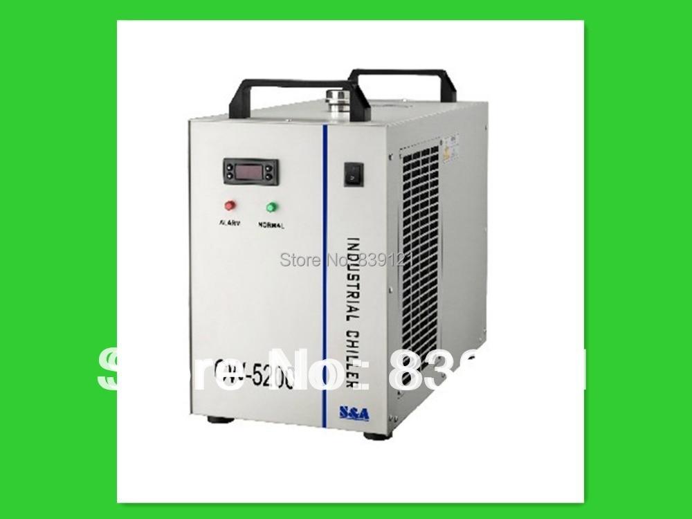 Enfriador de agua S&A original industrial para máquinas de grabado CNC / láser grabador CW-5200AH
